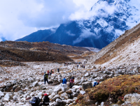 The way to Everest Base Camp
