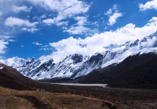 Panorama of Himalayan at Langtang